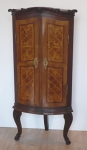 Baroque corner cabinet