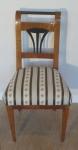 Biedermeier cherry chair