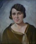 Frantisek Podesva - Portrait of a girl in a dress