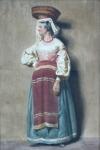 Josef Kessler - Woman with baskets on her head