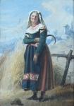 Josef Kessler - Woman with sickle