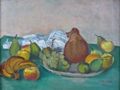 Jaroslav Riedl - Still Life with Fruit