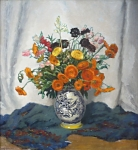 Jan (Jano) Sramek - Flowers in a vase