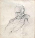 Philip Alexius - Portrait of Pope Leo XIII.