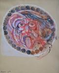 Hans Erni - Head of Medusa