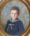 Jan Skramlik - Portrait of a Boy
