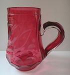Mug of rosaline glass, Biedermeier