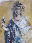 Hans Erni - Antique girl (Andromeda?)