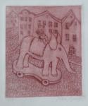 Helena Rysava - Cat on elephant
