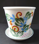 Flowerpot with tray - Rosenthal