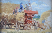 Alois Kohout - Harvest time