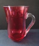 Mug of pink glasses monogrammed