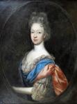 George Marées (Des Marres, Desmarées) - Portrait of a noblewoman