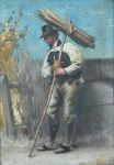 Josef Kessler - Man with bundle