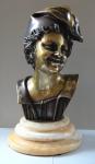 Boy in cap - Bronze
