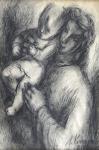 Milena Komrsova - Mother with child