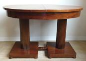 Two-column folding table