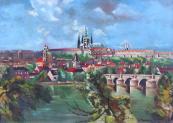 A. Moravec - Prague Castle and Charles Bridge