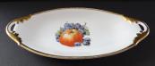 Oval bowl with fruit - Neu Rohlau