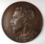 Bronze plaque - Miroslav Tyrs