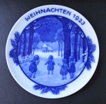 Christmas plate from 1923 - Rosenthal