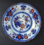 Little plate with flowers - Shiras, Davenport