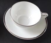 Coffee cup with platinum line - Pirkenhammer