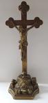 Christ on the cross at Golgotha