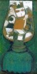 Jan Kudlacek - Petroleum lamp with elf
