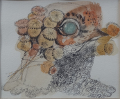Jan Kudlacek - Bird and poppyhead