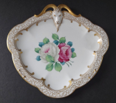 Gilt bowl with roses and goat - Rosenthal