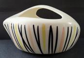 Bowl with upper grip - Ditmar & Urbach, Znojmo