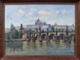Josef Homolka - Karlův most a Hradčany (1).JPG