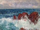 Karel Langer - Mořské vlny s útesy (4).JPG