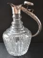 Džbán z broušeného skla, se stříbrným úchytem (2).JPG