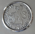Stříbrná kazeta, s mincí - Jezler, Švýcarsko (5).JPG