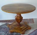 Biedermeirový salonní stůl, se sklopnou deskou (1).JPG