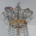 Luxusní lustr ze zlaceného bronzu, s broušenými ověsky (4).JPG