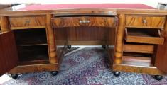 Velký reprezentativní stůl a knihovna - Art deko (3).JPG