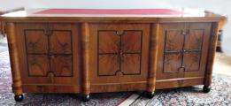 Velký reprezentativní stůl a knihovna - Art deko (4).JPG