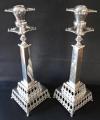Párové stříbrné svícny - Otomanská říše (2).JPG