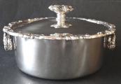 Biedermeierová stříbrná miska, s víčkem - Stephan Mayerhofer, Vídeň  1835 (2).JPG