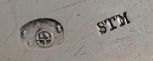Biedermeierová stříbrná miska, s víčkem - Stephan Mayerhofer, Vídeň  1835 (7).JPG