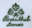 Konvička a dva šálky, zlaté kvítky - Rosenthal (6).JPG