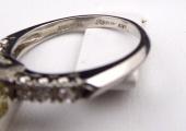 Platinový prsten - Champagne briliant 3,10 ct (7).JPG