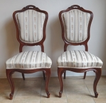 Pair of Louis-Philippe chairs
