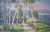 Vilem Emil Rada - Birch grove