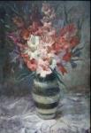 Alice Adamek - Gladiolus in vase