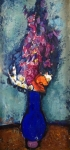 Vaclav Pavlik - Bouquet in a blue vase