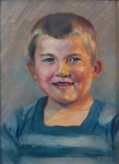Paula Hoffer - Portrait of a Boy